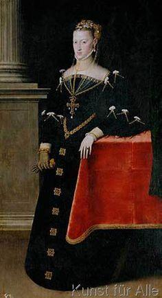 Sir Anthonis van Dashorst Mor - Kaiserin Maria / Gem.v.A.Mor