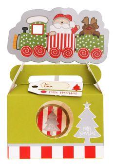 Un hermoso regalo navideño con dulces 🍬  o chocolates!