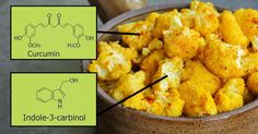 Cauliflower With Turmeric Makes For a Powerful Anti-Inflammatory And Anti-Cancer Snack - It only takes a few minutes to make.