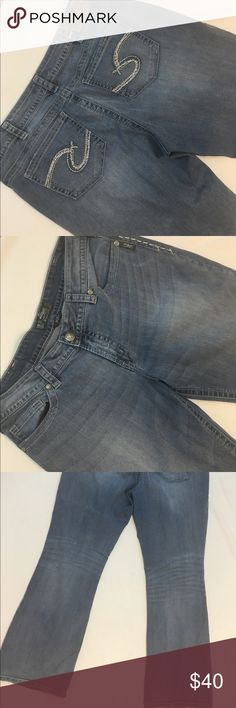 Silver Jeans Western Glove Works Nash Great condition! Only dry ...