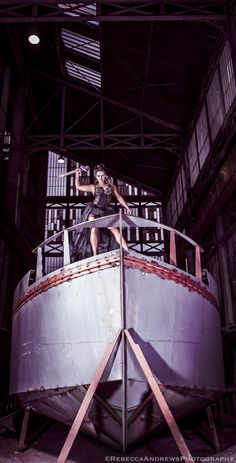 The Dark Queen by Rebecca Andrews, via Behance    #Femalebodybuilding #bodybuilding #muscle #femme #goddess #amazonian #rebeccaandrewsphotography #statuesque #fashion #gothic #industrial #docks #derelict #strength #independence #freedom #sincity #marvelcomics #super_heroine