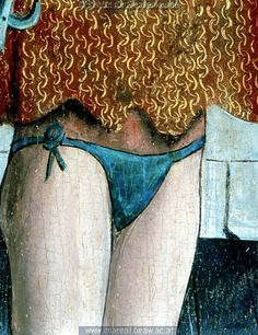 C.1465. Men's underpants, judging by the chain maille.