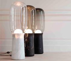 Collection Particulière maison d'édition française d'objets, mobilier et #luminaires #design { #lampe « Torch » design by Dan Yeffet }