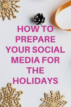 4f6fbd0f92c8 Tips and tricks to help you get your small business organized for the  holidays. Prepare your social media ahead of time so you don t have to  spend Christmas ...