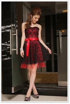 Sweet Lace Dress Prom Gown Bridesmaid Dress +