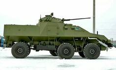 KaMAZ 432612.... A bigger prototype of the KaMAZ 43269 / BPM-97 Visztrel.  The vehicle is made longer and is a 6x6. A BMP-2 turret and about 6 infantry men sitting in the back.