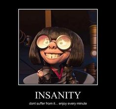 Edna Mode from The Incredibles lol Edna Mode, Disney And Dreamworks, Disney Pixar, Disney Memes, Disney Quotes, Mode Halloween, Funny Memes, Hilarious, Funny Quotes