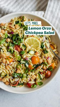 Veggie Dishes, Veggie Recipes, Whole Food Recipes, Vegetarian Recipes, Cooking Recipes, Healthy Recipes, Dinner Recipes, Whole Foods, Orzo Recipes