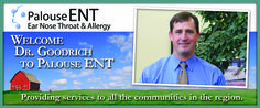 Palouse ENT welcomes Dr. Goodrich