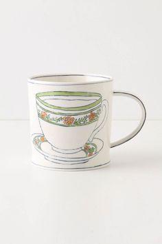 Teacup coffee mug.