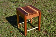 Wooden stool/sturdy stool by FundoraCarpentry on Etsy Rustic Bar Stools, Wooden Stools, Table, Furniture, Vintage, Etsy, Home Decor, Decoration Home, Room Decor