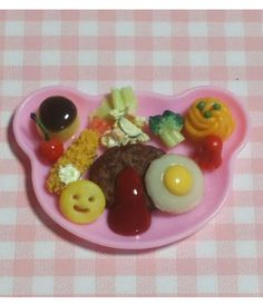 OMG!!!!!! So cute! Miniature Japanese-Style kid's food!