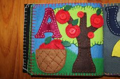 A for Apples Quiet Book