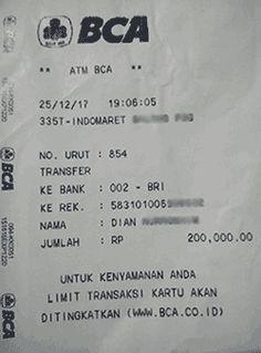 Transfer Uang Lewat Indomaret Ke Bri : transfer, lewat, indomaret, Transfer, Lewat, Antar, Biaya
