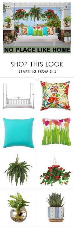 """""""Plants 🌱 NO PLACE LIKE HOME"""" by aharcaki on Polyvore featuring interior, interiors, interior design, home, home decor, interior decorating, Lowcountry Originals, Pottery Barn, Peking Handicraft and John-Richard"""