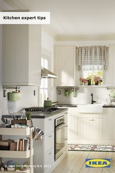 From a quick fix for too-chaotic sinks, to building a brand new heart of the home, these easy tips can save you time, money and maybe even a small tantrum of frustrations. Let us help you create your own beautiful, practical kitchen. Click for tips!