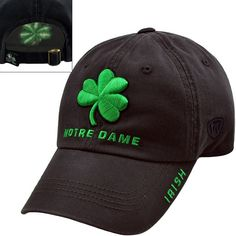Adult Top of the World Notre Dame Fighting Irish Undefeated Adjustable Cap,