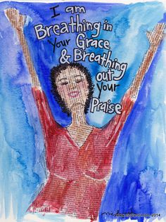 Breathe in Grace Breathe Out Praise Illustrated by nicplynel