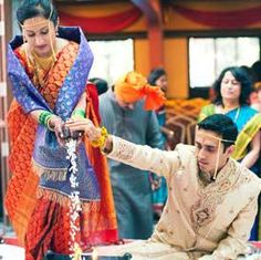 It is rightly said that marriages are made in heaven but arranged on earth. Every religion in the world has its own traditions which are followed on their weddings. Regional weddings are exciting, colourful and offer some new elements and rituals dis