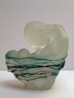 Helen Slater , Studio Cast Glass (I love this one, it evokes a feeling)