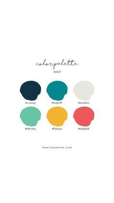 Branding color palette inspiration palette branding Find Hand Lettered Home Decor and Learn Hand Lettering by HewittAvenue Modern Color Palette, Colour Pallette, Colour Schemes, Color Patterns, Color Schemes For Websites, Logo Color Combinations, Modern Color Schemes, Color Trends, Website Color Palette