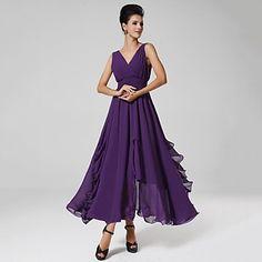 Women's Sexy/Casual/Party/Maxi Stretchy Sleeveless Maxi Dress ( Chiffon ) – USD $ 24.99