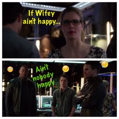 Rule #1 Team Arrow! #Olicity #Arrow