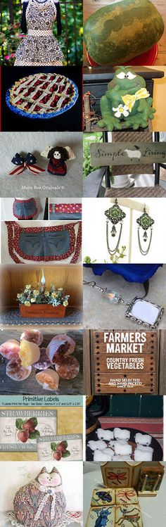 TEAMHAHA Summer Harvest by Becky McKinzie on Etsy--Pinned+with+TreasuryPin.com
