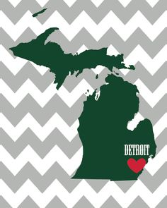 Love Michigan & Love Detroit