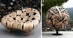 Discarded Tree Trunks Turned Into Stunning Wood Sculptures By Jae-Hyo Lee | Bored Panda