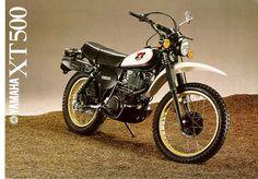 yamaha xt 500 1980