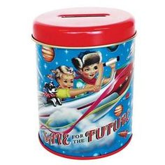 Wu/&wu Fiona Hewitt Cotton Candy Cigare à coudre Treasure Box Tin Rétro Kitsch