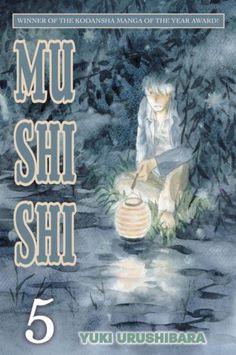 Mushishi, Volume 5 by Yuki Urushibara http://www.amazon.com/dp/0345501381/ref=cm_sw_r_pi_dp_OjMSvb02Q4Q2H