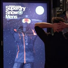 Seymourpowell Creates Interactive Smart Mirror for Superdry's Berlin Flagship Store Interactive Mirror, Interactive Installation, Installation Art, Digital Mirror, Interaction Design, North Face Backpack, Superdry, Real Madrid, Case Study