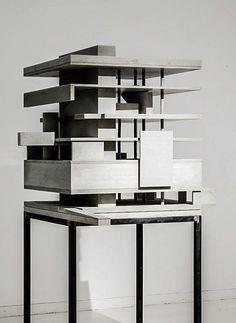 Architectural model marte.marte architects, Austria, 2002