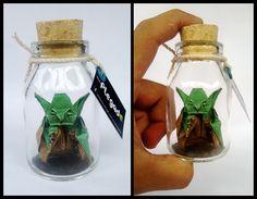 Maestro Yoda. Que la fuerza te acompañe. - 4,5 X 6 centímetros