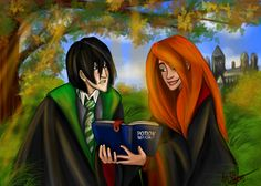 Severus and Lily by ~Sferalex on deviantART