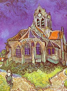 The Church in Auvers, June - Vincent Van Gogh