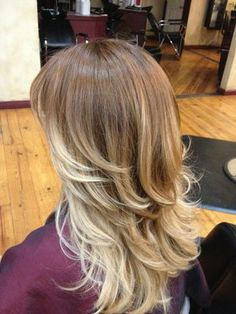Light Brown to Blonde Ombre | ombre hairstyles | Ombre Hair Blue | coolhairstylesforgirls.com
