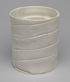 Enzo Mari. Samos Vase (model U). 1973----now imagine this in paper and wire in reds and creams and coated in encaustic.