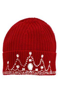 0d0a3e1ddff Markus Lupfer Knitted Tiara Beanie