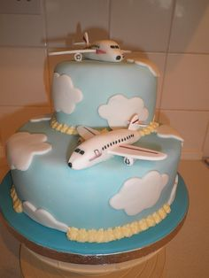 Delta Plane Cake This Was Made For A Woman Who Is A
