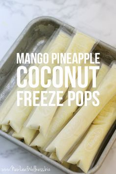 Summer is in full swing! I don't know about you, but when it's HOT, I have a hard time getting anyone in my family to eat (including me). I decided that healthy, frozen treats are the way to go to get