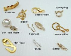 Exploring The  Variety Of Clasps Used In Handcrafted Jewelry
