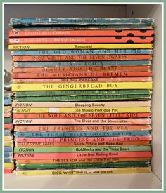 I so love these vintage ladybird books ...