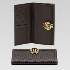 Gucci 224225 Aa61t 2019 Continental Geldb?rse mit Verriegelung G Anzeigen Gucci Damen Portemonnaie