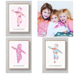 """Norwgian blogger and mom to these three princesses have """"wave"""" and """"geometric"""" in different colors on children rooms!"""