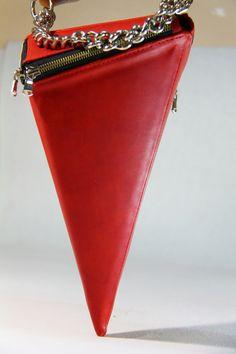 Angel West accessories Spring/Summer 2017  leather Handbag Handmade Designer K. Kosnitsky