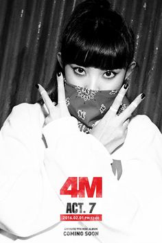 4MINUTE - 7th Mini Album 'ACT. 7' Teaser Image #4MINUTE #ACT7 #Teaser #Sohyun