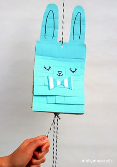 Easter Bunny Craft - super simple bunny pinata!  perfect for easter!